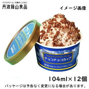 丹波篠山食品 チョコチョコアイスクリーム  104ml×12入 【スイスチョコレート使用】