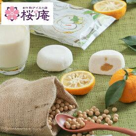 iceplantze モチアイス 豆乳&ゆず【プラントベースアイス 乳・卵アレルギーの方も安心】