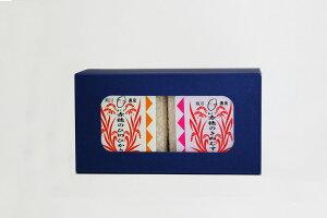 令和2年産 2品種 赤穂産食ベ比べセット(ひのひかり・きぬむすめ)安心の真空パック キューブ箱2合×2個入りMK-Q2