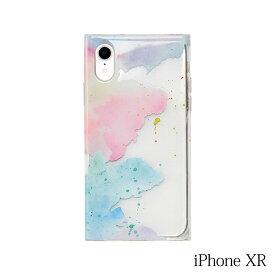 【iPhoneXR ケース】Smart Labo MAELYS LOUNA(マエリスルーナ)Louna Collections watercolor for iPhoneXR (pale) LCw-03119-pa