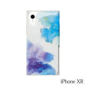 【iPhoneXR ケース】Smart Labo MAELYS LOUNA(マエリスルーナ)Louna Collections watercolor for iPhoneXR (night) LCw-03126-ni
