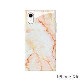 【iPhoneXR ケース】Smart Labo MAELYS LOUNA(マエリスルーナ)Maelys Collections Marble for iPhoneXR (Pink) MCM-03133-Pi