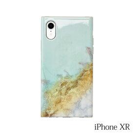 【iPhoneXR ケース】Smart Labo MAELYS LOUNA(マエリスルーナ)Maelys Collections Marble for iPhoneXR (Mint) MCM-03140-Mi
