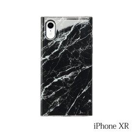 【iPhoneXR ケース】Smart Labo MAELYS LOUNA(マエリスルーナ)Maelys Collections Marble for iPhoneXR (Black) MCM-03157-Bl