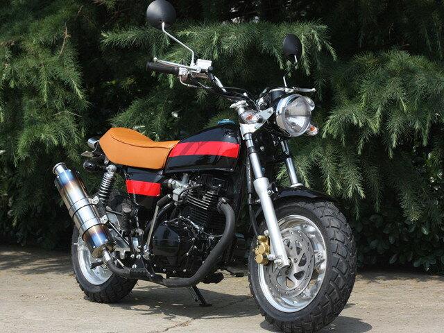 125ccバイククラッチ付5速二輪整備済車両 空冷4ストローク 単気筒直立エンジン新車HL125ABR