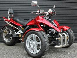 ICEBEARオリジナルバギータイプリバーストライク250cc水冷エンジン逆三輪トライクキット商品 ナンバー登録高速走行普通免許乗れる ノーヘル二人乗り新車SB250R