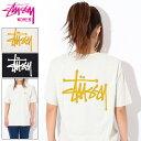 ステューシー STUSSY Tシャツ 半袖 レディース WOMEN Basic Stussy(stussy tee ティーシャツ T-SHIRTS カットソー トップス ガールズ ウーマンズ ウィメン