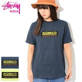 ステューシー STUSSY Tシャツ 半袖 レディース WOMEN Stussy Designs(stussy tee ティーシャツ T-SHIRTS カットソー トップス ガールズ ウーマンズ ウィメンズ ladies Ladys WOMENS 2902982 USAモデル 正規 品 ストゥーシー スチューシー)[M便 1/1]