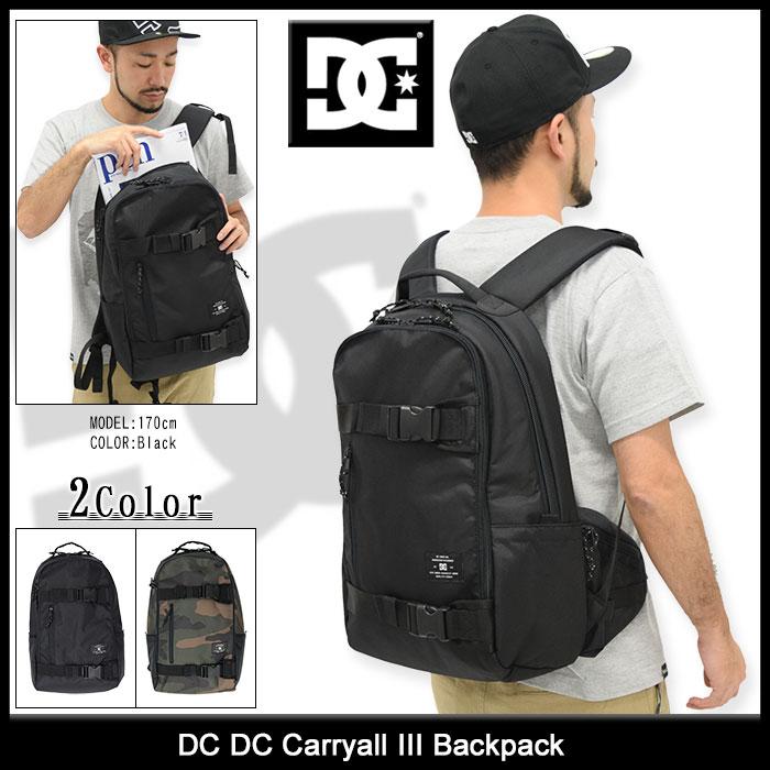ディーシー DC リュック DC キャリーオール 3 バックパック(dc DC Carryall III Backpack Bag バッグ バック Daypack デイパック 普段使い 通勤 通学 旅行 メンズ レディース ユニセックス 男女兼用 EDYBP03085) ice filed icefield