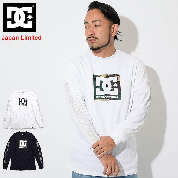 ディーシー DC Tシャツ 長袖 メンズ カモ ボクシング 日本限定(dc Camo Boxing L/S Tee Japan Limited ティーシャツ T-SHIRTS カットソー トップス ロング ロンティー ロンt メンズ 男性用 5425J840)