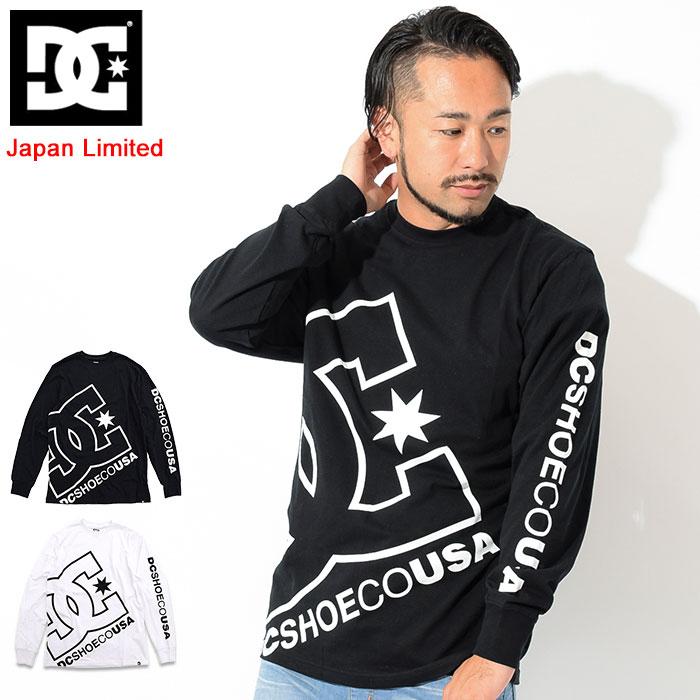 ディーシー DC Tシャツ 長袖 メンズ ビッグ スター 日本限定(dc Big Star L/S Tee Japan Limited ティーシャツ T-SHIRTS カットソー トップス ロング ロンティー ロンt メンズ 男性用 5425J847)