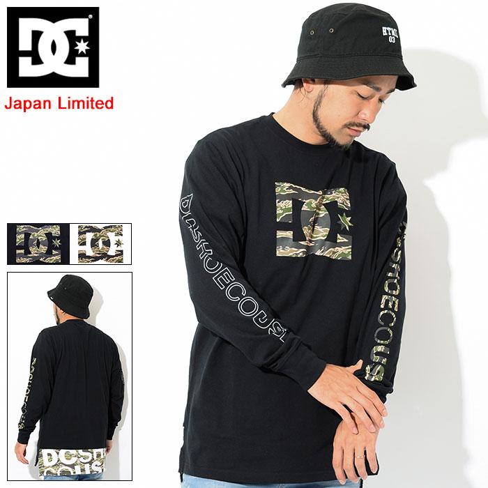 ディーシー DC Tシャツ 長袖 メンズ カモ ヘム 日本限定(dc Camo Hem L/S Tee Japan Limited ティーシャツ T-SHIRTS カットソー トップス ロング ロンティー ロンt メンズ 男性用 5425J842)