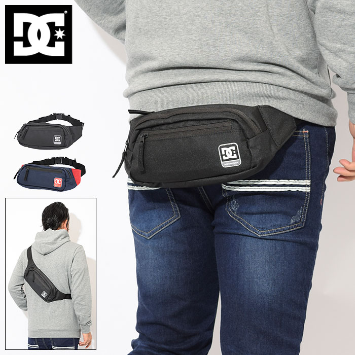 ディーシー DC ウエストバッグ ファース 2 ウエスト バッグ(dc Farce 2 Waist Bag ウエストポーチ ヒップバッグ ボディバッグ メンズ レディース ユニセックス 男女兼用 EDYBA03042)