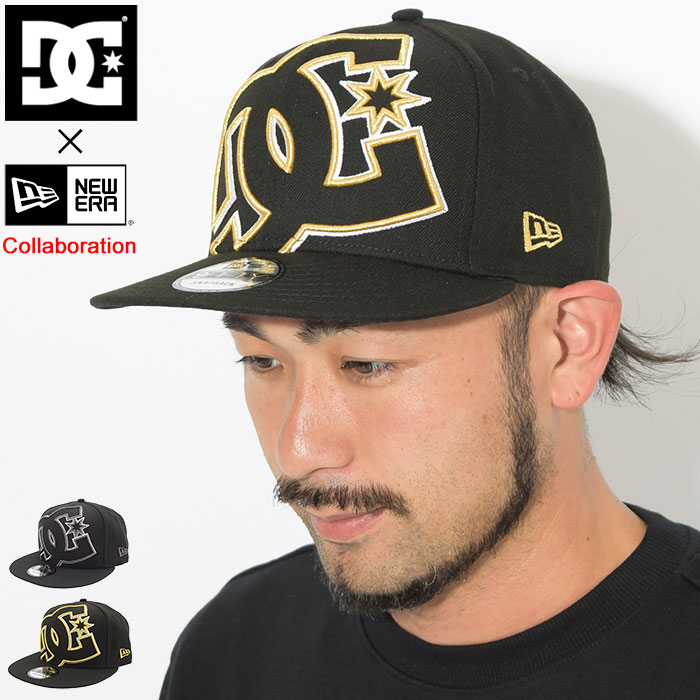 ディーシー DC キャップ メンズ ニューエラ ダブル アップ スナップバックキャップ コラボ(dc×NEW ERA Double Up Snapback Cap 帽子 Wネーム ディーシー×ニューエラ メンズ 男性用 ADYHA03622)