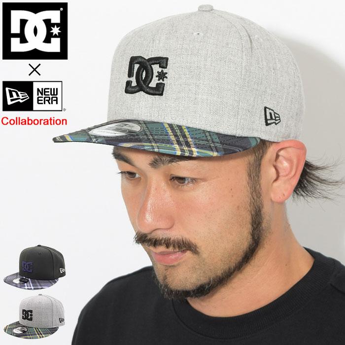 ディーシー DC キャップ メンズ ニューエラ チェック エンパイア スナップバックキャップ コラボ(dc×NEW ERA Check Empire Snapback Cap 帽子 Wネーム ディーシー×ニューエラ メンズ 男性用 ADYHA03693)