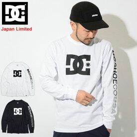 ディーシー DC Tシャツ 長袖 メンズ 19SP スター 日本限定(dc 19SP Star L/S Tee Japan Limited ティーシャツ T-SHIRTS カットソー トップス ロング ロンティー ロンt メンズ 男性用 5125J925)
