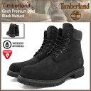 ティンバーランド Timberland ブーツ 6インチ プレミアム ブラックヌバック(ティンバーランド timberland TIMBERLAND ティンバ ...