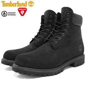 【日本正規品】ティンバーランド Timberland ブーツ 6インチ プレミアム ブラックヌバック ( ティンバーランド timberland TIMBERLAND ティンバ 10073 6inch Boot Black 黒 防水 定番 メンズ・靴 MENS ティンバーランド ティンバー )