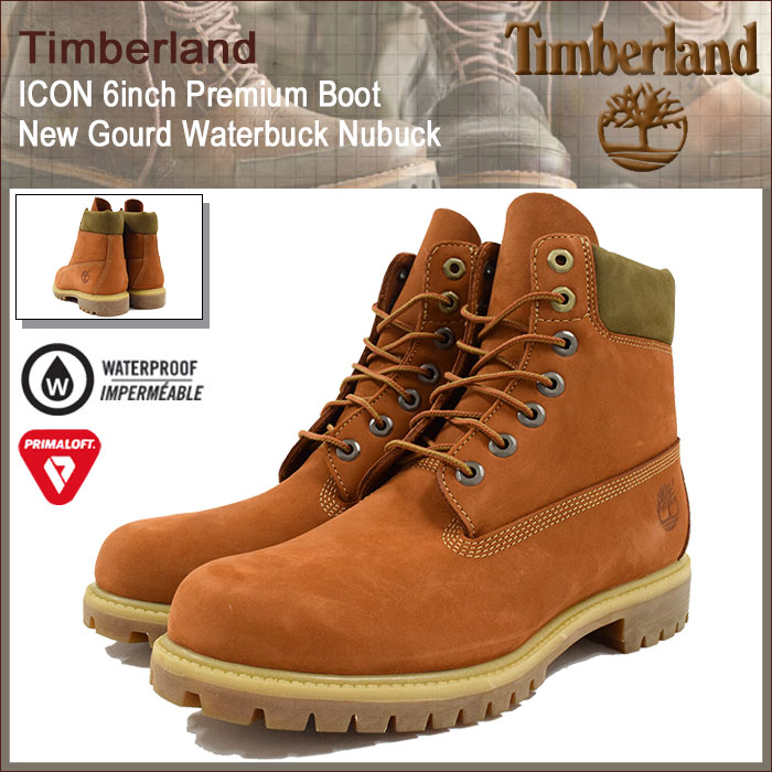 【日本正規品】【30%OFF】ティンバーランド Timberland ブーツ メンズ アイコン 6インチ プレミアム ニュー ゴード ウォーターバック ヌバック(timberland A17YC 6inch Premium Boot New Gourd Waterbuck Nubuck 防水 男性用 MENS・靴 メンズ靴)