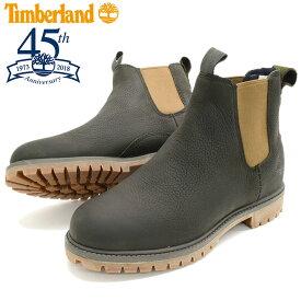 【日本正規品】ティンバーランド Timberland ブーツ メンズ 男性用 6インチ プレミアム チェルシー Dark Green Full Grain(timberland A1UIB 6inch Premium Chelsea 45th Anniversary 45周年 サイドゴア 男性 紳士用 MENS・靴 メンズ靴)