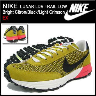 reputable site bc6d5 e1a7c ... Nike NIKE sneakers luna LDV trail low Bright CitronBlackLight  Crimson-limited men (male business ...