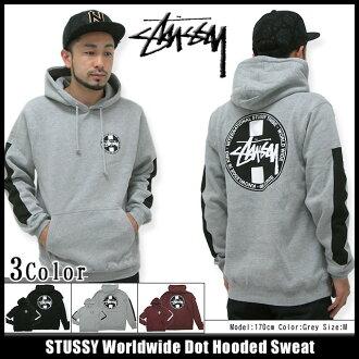 Stussy STUSSY 全球网点套衫帽衫 (男装 1923387 stussy 罩蒙面的汗水青果,男装上衣靠边帽衫帕克 Stussy stussy Stussy Steacy) 提起冰原的冰