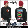 Stussy STUSSY XL Power T shirt long sleeve (stussy tee tee shirts T-SHIRTS tops long long tea Ron t men's men for 1993394 Stussy stussy Stussy Steacy) ice filed icefield