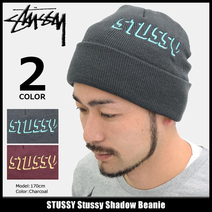 ステューシー STUSSY ニット帽 Stussy Shadow(stussy beanie ビーニー 帽子 ニットキャップ メンズ・男性用 132856 USAモデル 正規 品 ストゥーシー スチューシー)