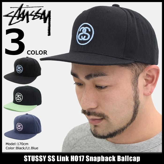 ステューシー STUSSY キャップ 帽子 SS Link HO17 Snapback Cap(スナップバック メンズ・男性用 131760 131704 ストゥーシー スチューシー) ice filed icefield