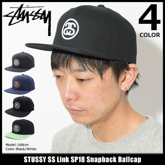 ステューシー STUSSY キャップ 帽子 SS Link SP18 Snapback Cap(スナップバック メンズ・男性用 131778 131760 USAモデル 正規 品 ストゥーシー スチューシー) ice filed icefield