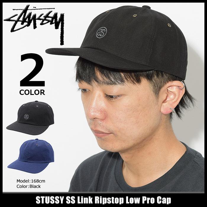 ステューシー STUSSY キャップ 帽子 SS Link Ripstop Low Pro Cap(ローキャップ ストラップバック メンズ・男性用 131789 USAモデル 正規 品 ストゥーシー スチューシー) ice filed icefield
