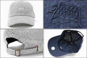 ステューシーSTUSSYキャップ帽子SeersuckerLowProCap(ローキャップストラップバックメンズ・男性用131800USAモデル正規品ストゥーシースチューシー)icefiledicefield