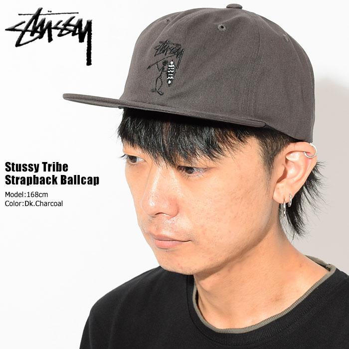 ステューシー STUSSY キャップ 帽子 Stussy Tribe Strapback Cap(ストラップバック メンズ・男性用 131813 USAモデル 正規 品 ストゥーシー スチューシー)