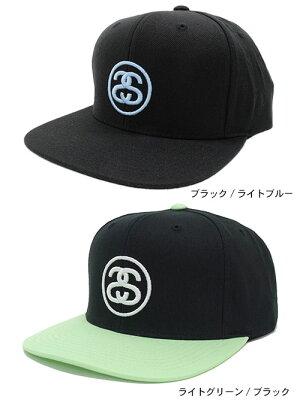 ステューシーSTUSSYキャップ帽子SSLinkSU18SnapbackCap(スナップバックメンズ・男性用131804131778USAモデル正規品ストゥーシースチューシー)icefiledicefield