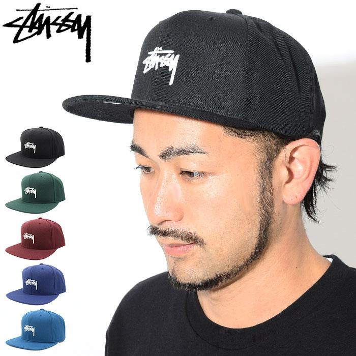 ステューシー STUSSY キャップ 帽子 Stock FA18 Snapback Cap(スナップバック メンズ・男性用 131817 131780 USAモデル 正規 品 ストゥーシー スチューシー)