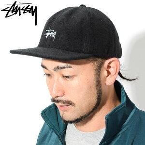 ステューシーSTUSSYキャップ帽子PolarFleeceStrapbackCap(ストラップバックメンズ・男性用131825USAモデル正規品ストゥーシースチューシー)icefiledicefield