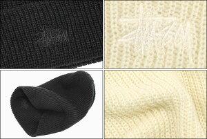 ステューシーSTUSSYニット帽BasicFA18Cuff(stussybeanieビーニー帽子ニットキャップメンズ・男性用132889USAモデル正規品ストゥーシースチューシー)icefiledicefield