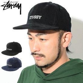 ステューシー STUSSY キャップ 帽子 Washed Cord Snapback Cap(スナップバック メンズ・男性用 131821 USAモデル 正規 品 ストゥーシー スチューシー) ice filed icefield
