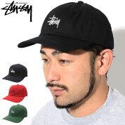 ステューシーSTUSSYキャップ帽子HO18StockLowProCap(ローキャップストラップバックメンズ・男性用131857USAモデル正規品ストゥーシースチューシー)icefiledicefield