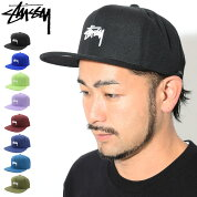ステューシーSTUSSYキャップ帽子StockFA18SnapbackCap(スナップバックメンズ・男性用131817131780USAモデル正規品ストゥーシースチューシー)