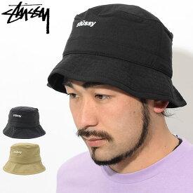 ステューシー STUSSY バケット ハット Bungee Bucket Hat 帽子(stussyhat メンズ・男性用 132916 USAモデル 正規 品 ストゥーシー スチューシー) ice filed icefield