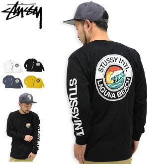 Stussy STUSSY T 衬衫长袖男装 LB 点 (stussy tee t 恤衫 t 恤衬衫上衣很长很长茶罗恩 t 对于男人来说,男性 1993990 Stussy steussie) 冰提起冰原