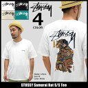 【6/26入荷予定】ステューシー STUSSY Tシャツ 半袖 メンズ Samurai Rat(stussy tee ティーシャツ T-SHIRTS カットソー...