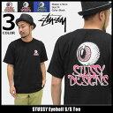 【6/26入荷予定】ステューシー STUSSY Tシャツ 半袖 メンズ Eyeball(stussy tee ティーシャツ T-SHIRTS カットソー トップス メンズ・男性用 1904066 スト