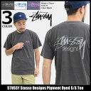 ステューシー STUSSY Tシャツ 半袖 メンズ Stussy Designs Pigment Dyed(stussy tシャツ tee ティーシャツ T-SHIRTS …