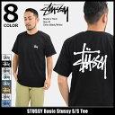 ステューシー STUSSY Tシャツ 半袖 メンズ Basic Stussy(stussy tee ティーシャツ T-SHIRTS カットソー トップス ベーシック メンズ・男性用 1904181 1