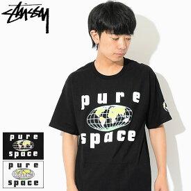 ステューシー STUSSY Tシャツ 半袖 メンズ Pure Space ( stussy tee ティーシャツ T-SHIRTS カットソー トップス メンズ・男性用 1904233 USAモデル 正規 品 ストゥーシー スチューシー )[M便 1/1]