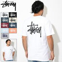 ステューシー STUSSY Tシャツ 半袖 メンズ Basic Stussy(stussy tee ティーシャツ T-SHIRTS カットソー トップス ベーシック メンズ・…