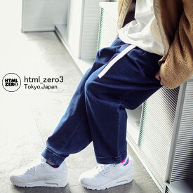 エイチティエムエル ゼロスリー HTML ZERO3 パンツ メンズ コンフォート ワイド デニムパンツ(html zero3 Comfort Wide Denim Pant ジーンズ ジーパン ボトムス エイチティーエムエル HTML-PT105) ice filed icefield