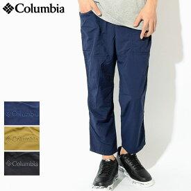 コロンビア Columbia パンツ メンズ ウィルス アイル(columbia Wills Isle Pant イージーパンツ アンクルパンツ 9分丈 九分丈 パッカブル ボトムス アウトドア メンズ 男性用 Colombia Colonbia Colunbia PM4438)